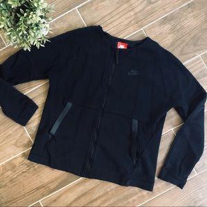 Nike black zip jacket